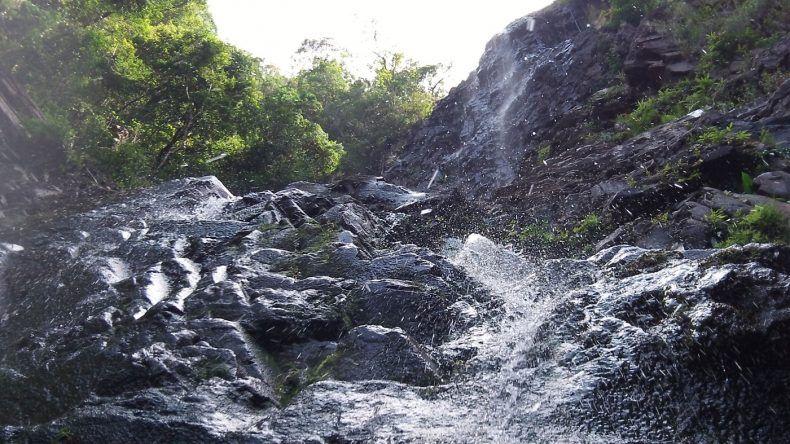 Langkawi: Wasserfall Temurum