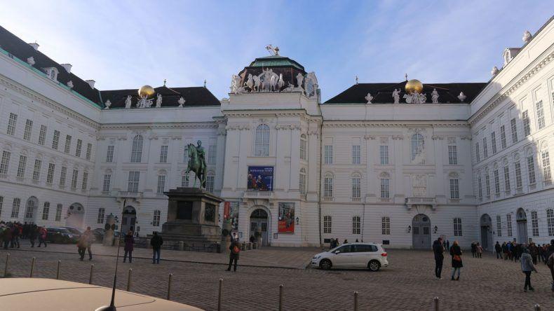 Hier macht lernen Spaß ;) Die Nationalbibliothek am Josefplatz
