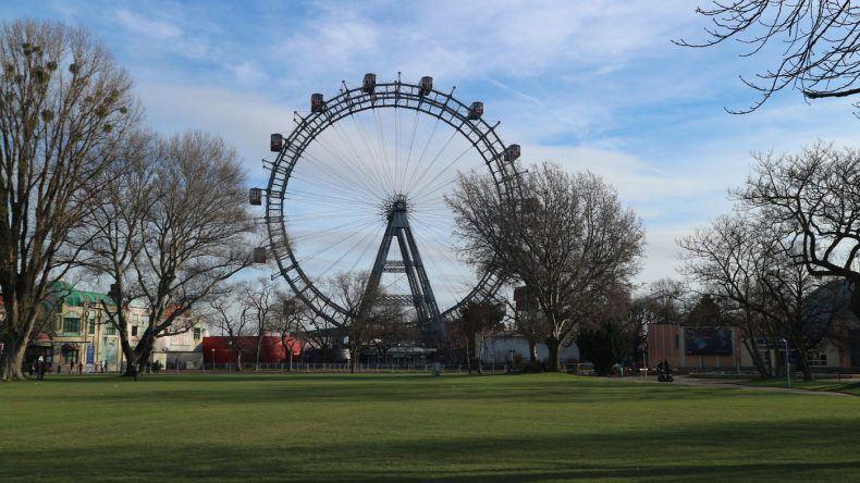 Das Riesenrad beim Freizeitpark