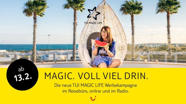 TUI MAGIC LIFE Kampagne