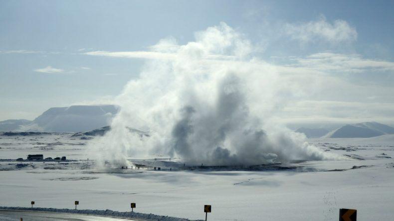 Unromantischste Orte zum Valentinstag: Námaskarð Schlammtopf