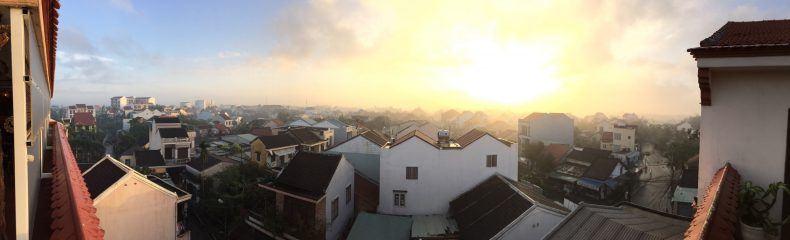 Hoi An bei Sonnenaufgang