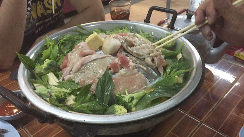Typisches thailändisches Essen