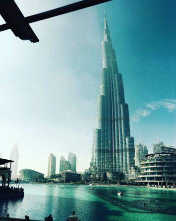 Burj Khalifa ist mit 828 Metern das höchste Gebäude der Welt