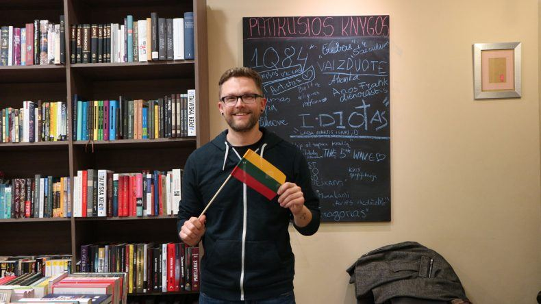 TUI Mitarbeiter Dennis macht Urlaub in Vilnius, der Hauptstadt Litauens
