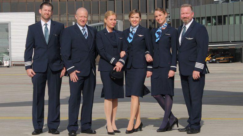 Seit heute im Einsatz: Die neuen TUI fly Uniformen