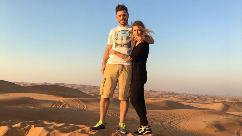 In der Wüste Dubais