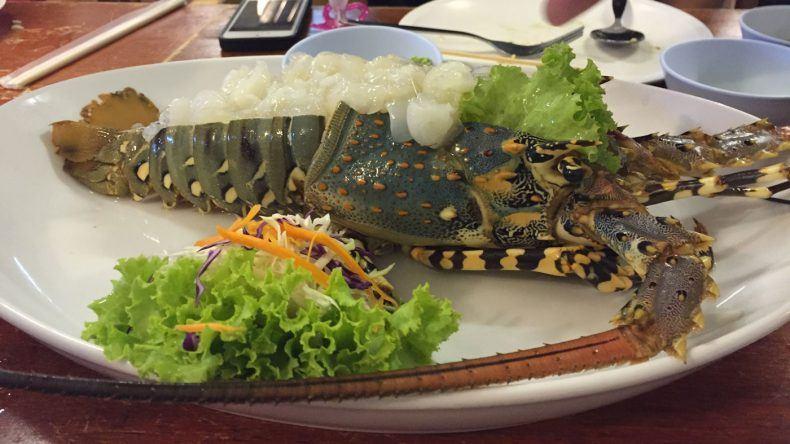 Lobster in Thailand
