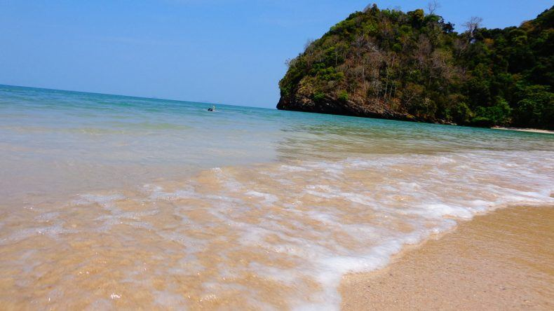 Auf Tarutao am Strand Ao Molae