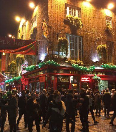 St. Patricks Day Temple Bar-Viertel
