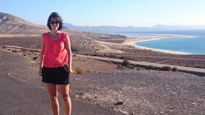 Svenja auf Fuerteventura