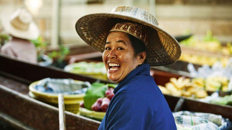 Menschen in Thailand