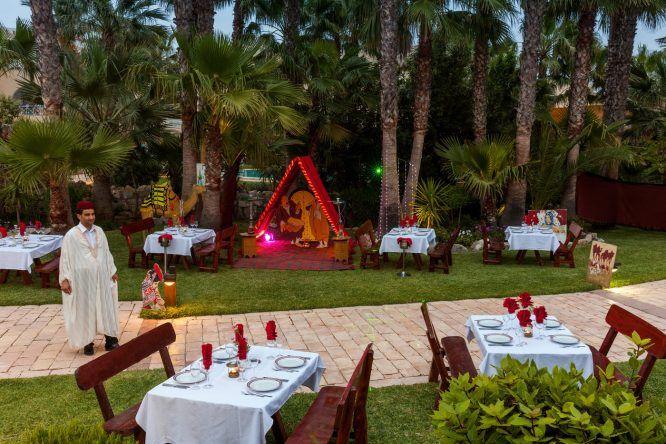 Das Spezialitätenrestaurant Sofra, welches landestypische Speisen im Angebot hat