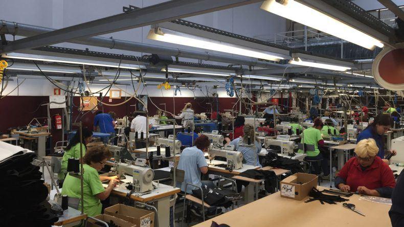 Besuch der Produktionsstätte