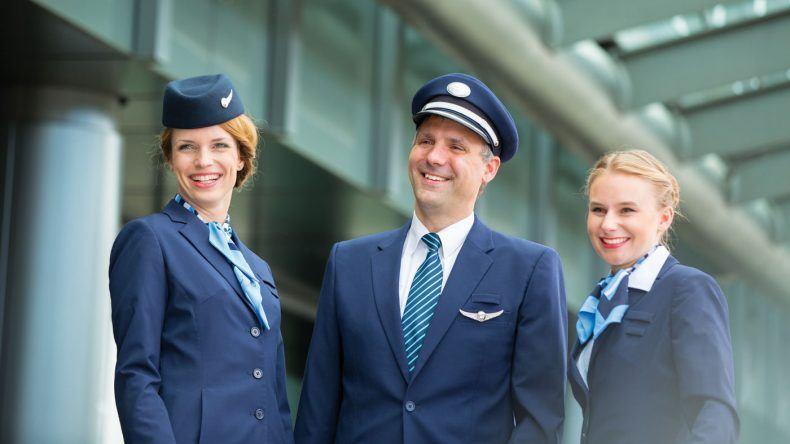 Die neuen Uniformen der TUI fly Germany Crew