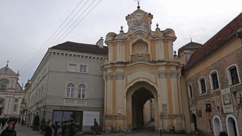 Die schöne Altstadt von Vilnius