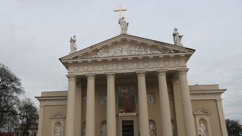 Die Kathedrale in Vilnius