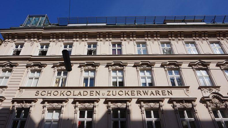 Wien Zuckerwaren und Schokolade