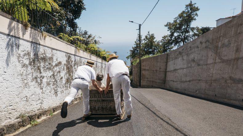 Korbschlittenbahn Madeira
