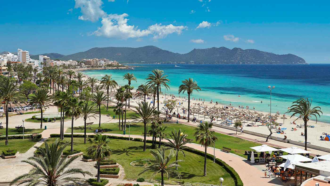 Palma De Mallorca Hotels On The Beach