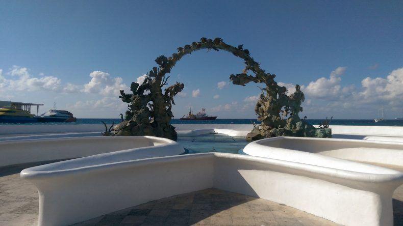 Hafen von Cozumel