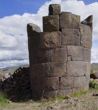 Peru, Chullpa in Sillustani