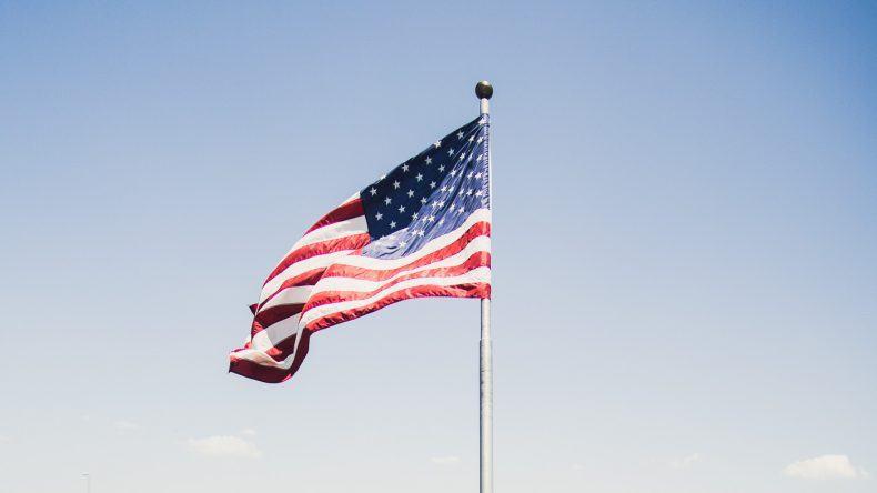 Die Flagge der Vereinigten Staaten habe ich auf der Starlite Majesty in Clearwater aufgenommen