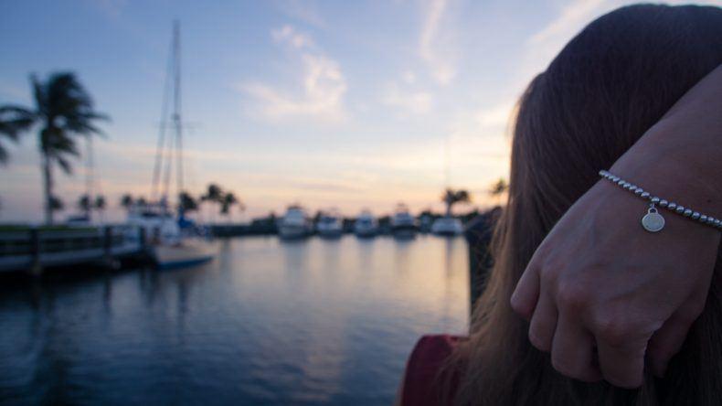 Lara am Hafen von Cape Coral