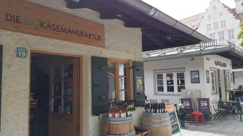Eine Alternative oder zumindest lohnenswerte Ergänzung zum Viktualienmarkt: der Elisabethmarkt in Schwabing.