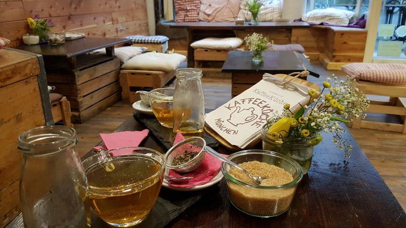 Tee oder Kaffee abseits des Mainstream gibt es im Stadtteil Au-Haidhausen in der Kaffeeküche München.