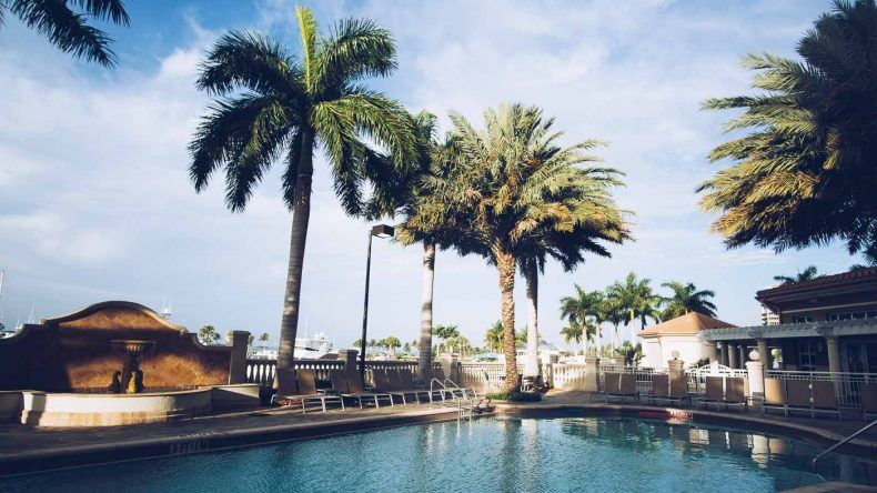 Der Pool im The Westin Cape Coral Resort Marina Village