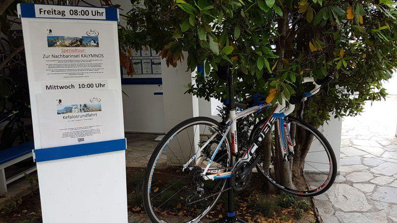 Perfekt ausgestattete Bike-Station
