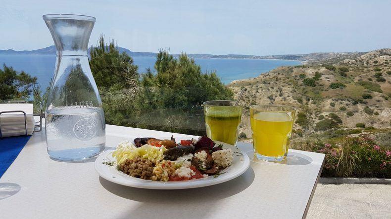Essen mit Panoramablick