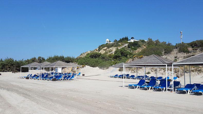 Strandbereich für Familien