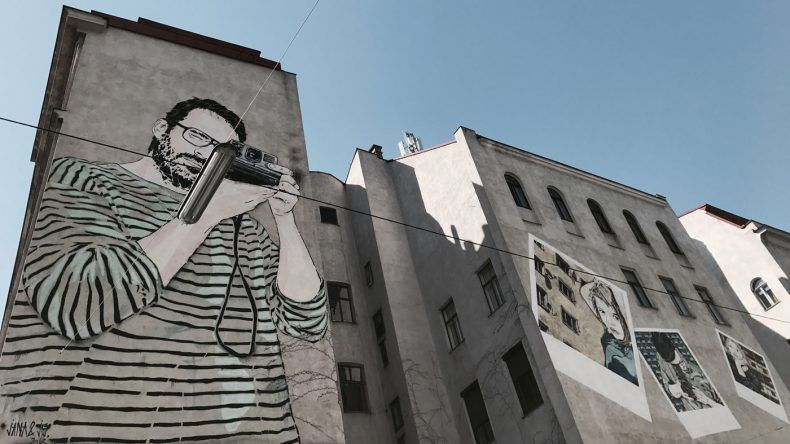 Streeetart Mural Wien