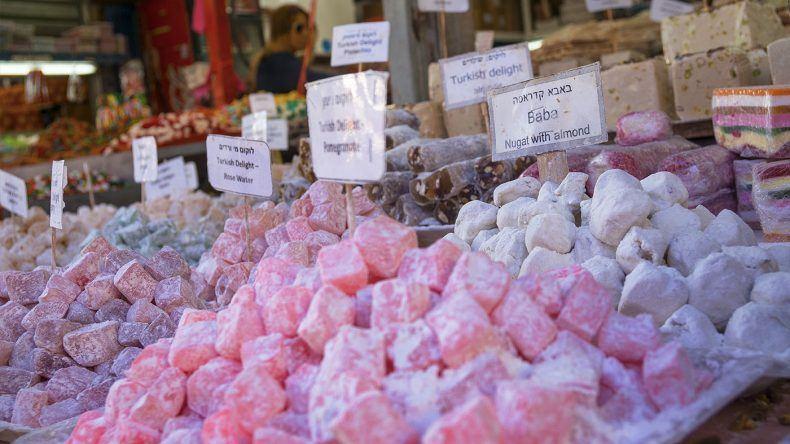 Auf dem Karmel Markt findet ihr zahlreiche Leckereien!