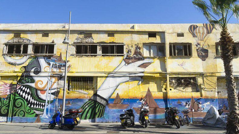 Streetart in Tel Aviv