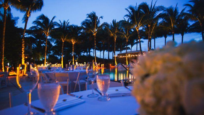 Abendessen im W South Beach