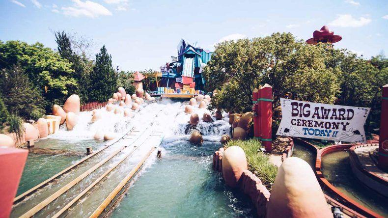 Wasserbahn im Park Universal's Island of Adventure, Orlando