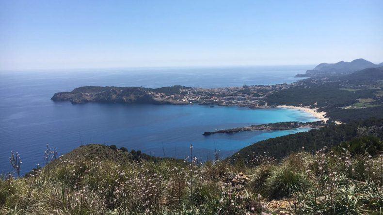 Wanderweg zur Cala Agulla