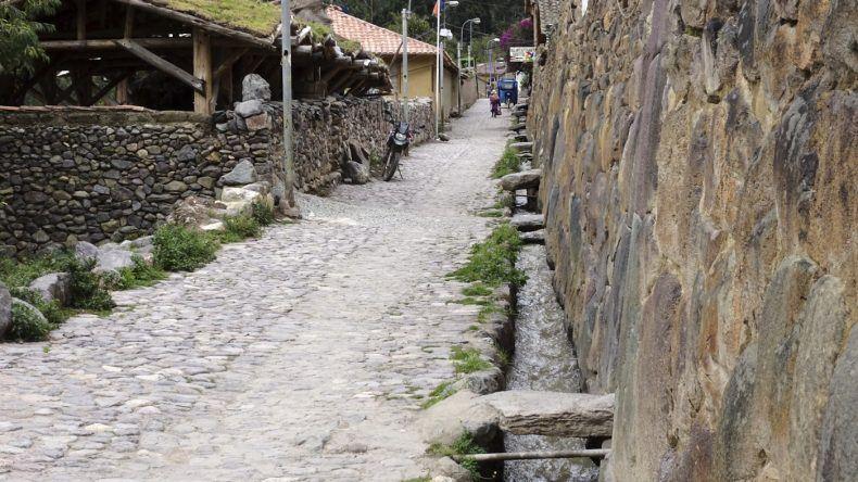 Peru, alte Inkastadt