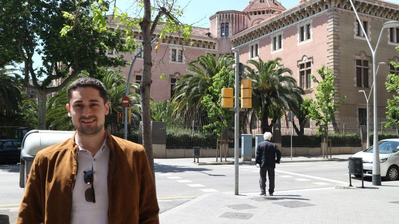Alex in Barcelona