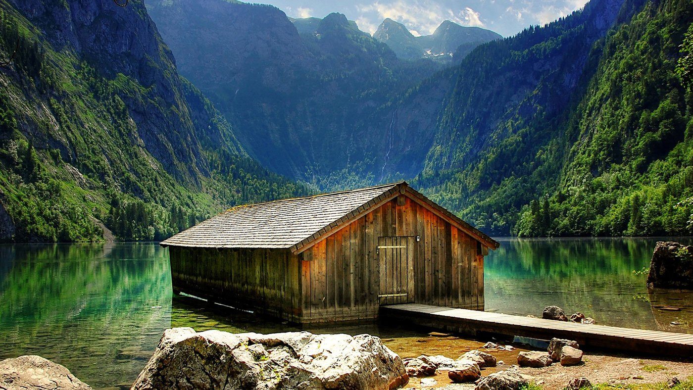 Außergewöhnliches Reiseziel: Obersee in Bayern