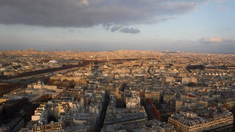 Aussicht auf Paris