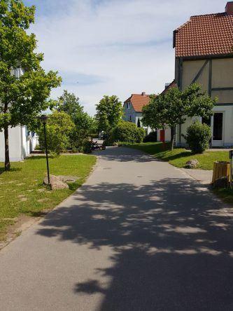 Autofreie Anlage im Dorfhotel Fleesensee