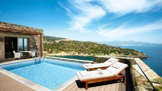 Das Daios Cove Luxury Resort & Villas auf Kreta
