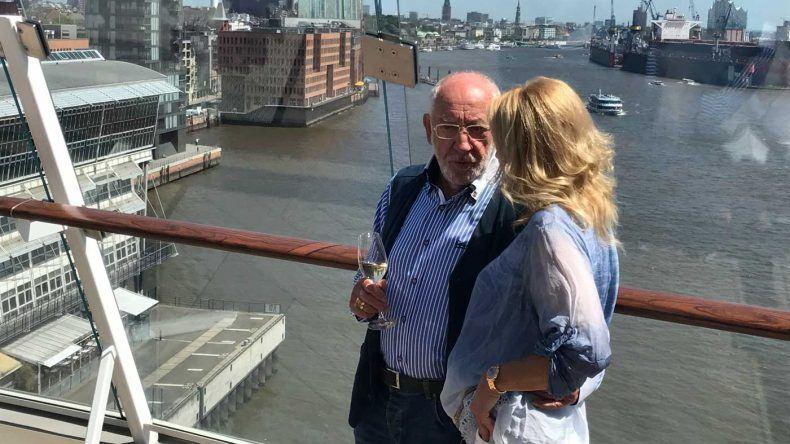 Dieter Hallervorden mit Freundin Christiane Zander