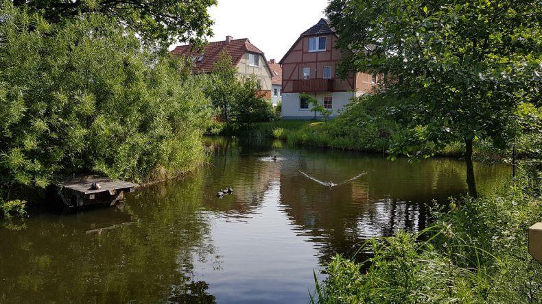 See beim Dorfhotel Fleesensee