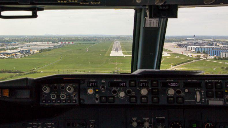 Im Endanflug auf Hannover
