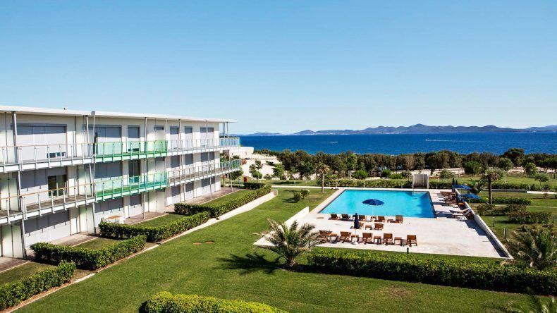 Die exklusiv ausgestattete Anlage der Falkensteiner Premium Apartments Senia ist ideal für Aktivurlauber und Familien